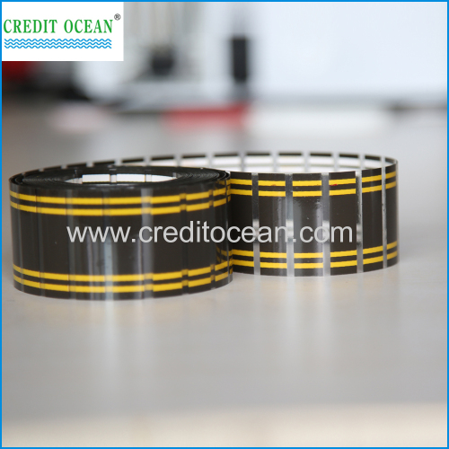 custom logo Cellulose Acetate Shoelace Tipping Film