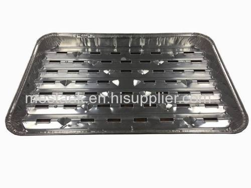 Aluminium foil container back tray disposable food container BBQ