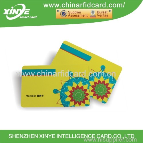 Blank smart RFID hotel access control system key card