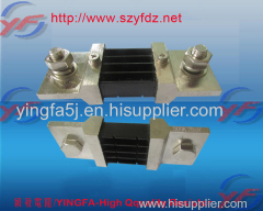 YINGFA high-pricision 300A current shunt for power supplier