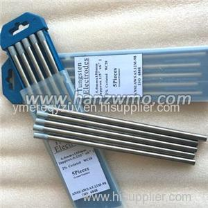 Tungsten Electrode Product Product Product