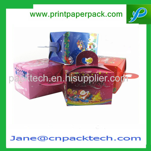 Custom Christmas Gift Packaging Box Paper Packing Cardboard Box