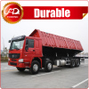 High Quality 3 Axles Side Tipper Dump Semi Truck Trailer