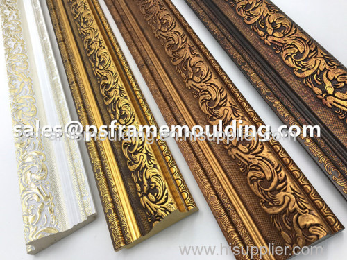 plastic PS decorative picture painting frame mouldings