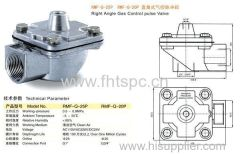 Right Angle Gas Control Pulse Valves