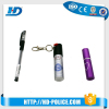 HD wholesale 20ml mini pepper spray with key chain for self defense