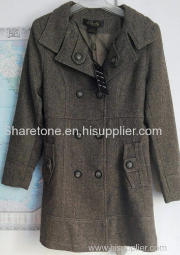 hot sale readymade new fashion Women' s coating