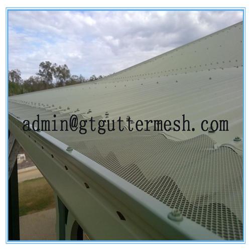 aluminium gutter guard mesh