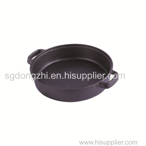 cast iron dual handle pans for roast