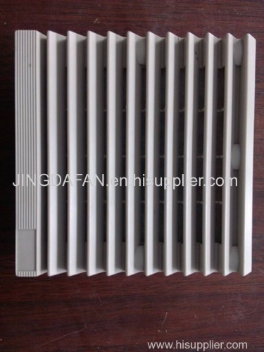 Ventilator White Filter Fan Finger Guards