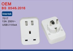 BS8546 universal to uk adapter