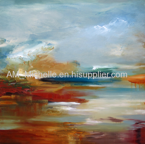 Museum quality abstract colorful oil paintings home decor at factory direct sales price