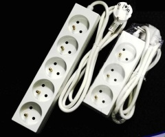 Daul USB port 4 outlet French extension electric socket