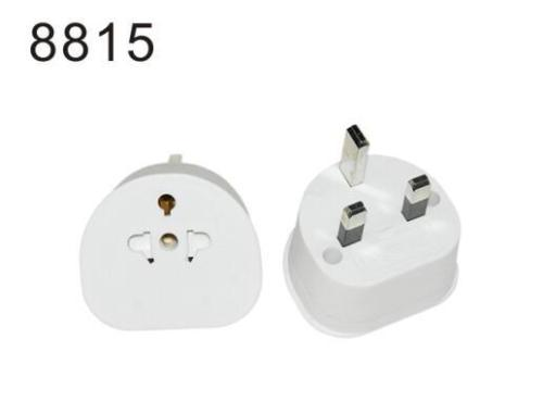 Brand New Universal US AU EU to UK Plug 3pin Travel Adapter Power Plug