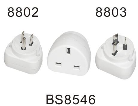 Universal UK to EU/AUS Travel Power Plug Adapter Converter with USB