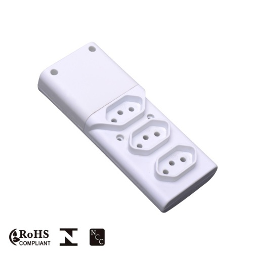 High Quality Fused Extension Power Socket with Led indicator