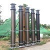 15m supper heavy duty payloads pneumatic telescopic masts for mobile lighting towers or mobile antenna broadcast tower