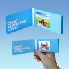 "Promotiaon 2.4""4.3""5""7""10.1""video business card video brochure"