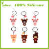 Silicone Christmas Gifts Silicone Promotional Bottles Silicone Keychain