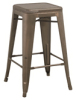 Tolix Bar Stool With Mesh Seat