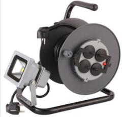 Auto-rewind Led cable reel retractable cable reel with CE GS SAA