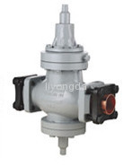Screw machine pressure regulating valve