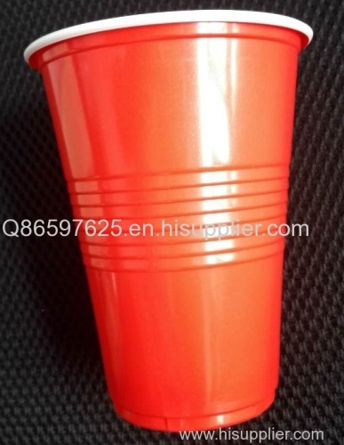 PP double color plastic cup Beer pong cup Solo cup Party cup