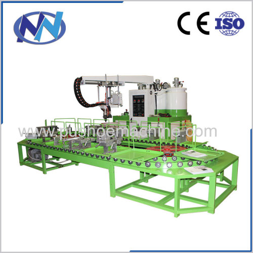 PU shoes machine with good quality low price