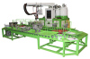 Double color injection moulding pu pouring machine