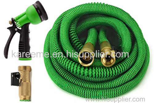 china hose factory wholesale incredible flexible water hose with full brass fitting and on/off valves