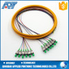 CATV jumper cable armoured 12 core single mode fiber optic cable