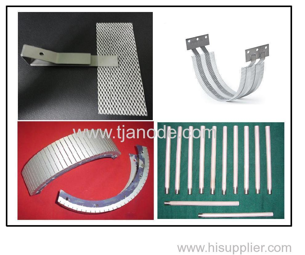 Platinum Coated (Platinized) Titanium/Niobium Anode from China Manufacturer