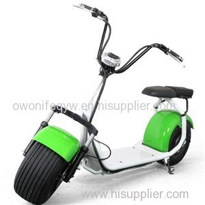 1000w Big Wheels Harley Electric Lithium Battery Bike Electric Citycoco