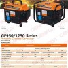 EPA/CE Approved Low Noise And Vibration Gasoline Quiet Generator