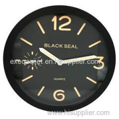 Glow in the Dark Luminous Wall Clock