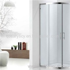 SUS 304 Framed Quadrant Sliding Door Shower Room With Toughened Glass