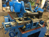 Ribbed spiral pipe producting machine