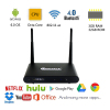 New Arrived Manufacturer QINTAIX 4K Android 6.0 TV Box Amlogic S912 DDR4 3G + 32G Dual Wifi Bluetooth QINTEX