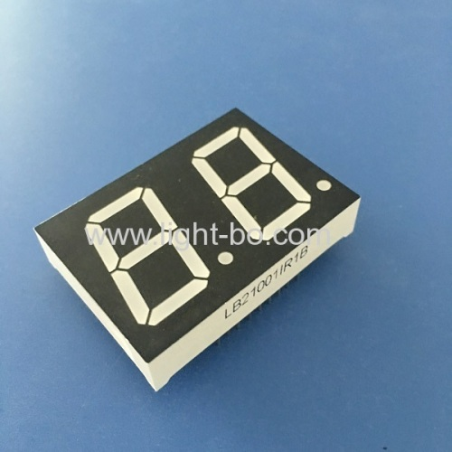 Dual Digit 1  7-Segment LED Display Common Anode Super Red for digital indiator
