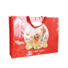 custom luxury PP woven bag packaging with artwork printing supplier