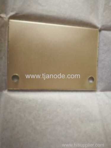 Platinized Titanium Anodes in Chrome Plating