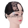 U Part Glueless Lace Wig Cap For Making Wigs With Adjustable Straps Weaving Caps For Women Hair Net & Hairnets