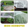 Most popular black pp non-woven for weed control/ agriculture ground cover