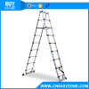 Easyzone folding house aluminum ladder with 150kg