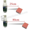 Invisible Mini Marked Playing Cards Poker Camera In Mineral Water Bottle For Cheating