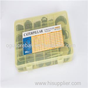 36Size 396PCS O Ring Kit O Ring Box O Ring Assortment Seal Ring Kit Box For CATERPILLAR