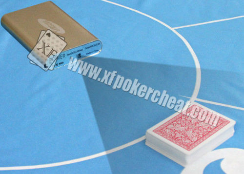 Silver Power Bank Scanning Camera For Poker Analyzer System