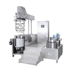 AVE-Upper Homogenizer Hydralic Lifting Vacuum Emulsifying Mixer