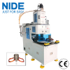 NIDE automatically two working stations stator coil winding machine