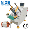 Fan Motor Stator Semi-automatic Coil Winding Inserter Machinery